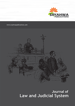 Journal of Law and Judicial System - Sryahwa Publications
